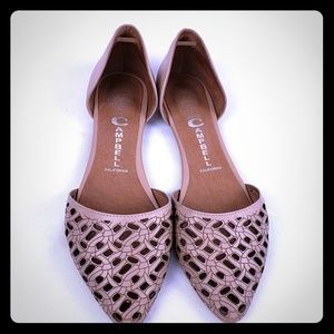 Tan Jeffrey Campbell Flats